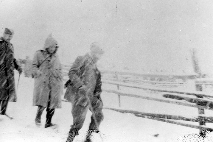 Босна, у зиму 1944/45: генерали Михаиловић, Трифуновић и Дамјановић