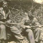 Вељко Јовановић и Миленко Савичић, четници Јошавачке бригаде