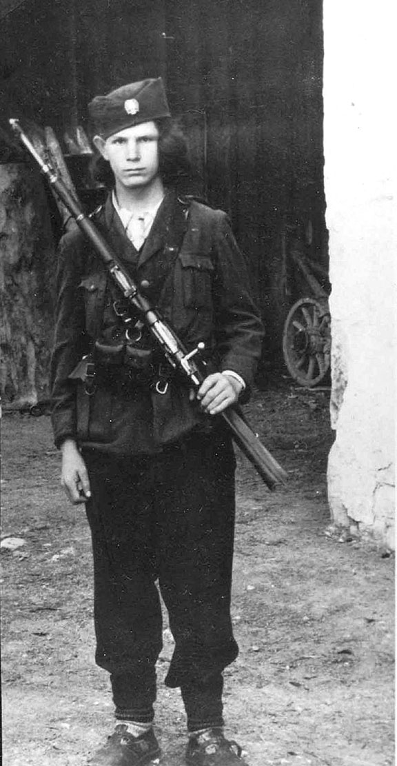 Перица Совиљ као четник Динарске четничке дивизије