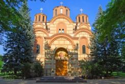 New Gracanica Serbian Orthodox Monastery in Third Lake, IL U.S.A. Photo by Aleksandra Rebic June 30, 2013.