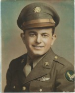 Sergeant Mike McKool of the U.S. Army Air Force WWII Photo courtesy of daughter Mollie McKool.