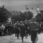 Дефиле јединица Тимочког корпуса у ослобођеном Бољевцу лета 1944. године
