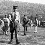 Еболи, прослава Видовдана 1946. године. У првом плану је генералДамјановић