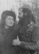 Кпетан Жика Павловић Артиљерац и његова вереница Радмила Јаковљевић, убијена у Аушвицу