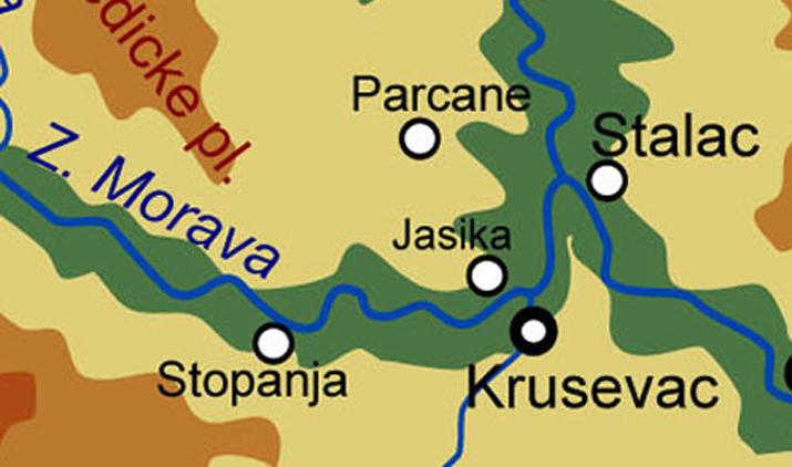 Мапа: И. Матејић