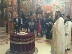 Парастос војводи Танкосићу у Новој Грачаници (фото: Српски четници Равне Горе)