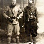 Радован Пејановић и Владо Милојевић, командант Требињске бригаде ЈВуО