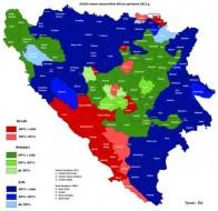 Etnicka karta BiH