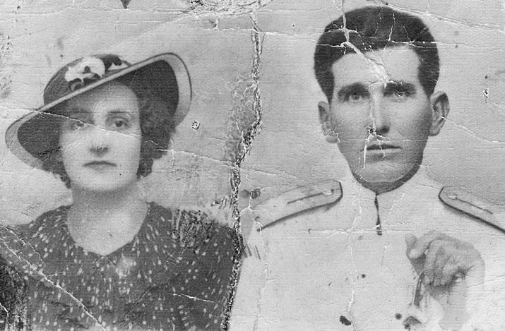 Веселинка и Драгутин Кесеровић, око 1935. године