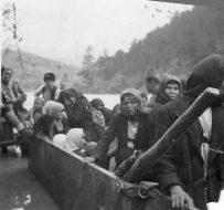 00140 Bosna, skela, izbeglice