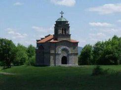 Црква Светог Великомученика Георгија на Краљевом брду, у селу Горње Лесковице код Ваљева, задужбина Горске краљеве гарде потпуковника Николе Калабића. Била је зидана од тврдог материјала. Срушена је од стране комуниста 1947, а обнова је започета 1990.