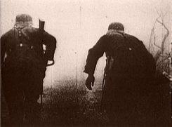 Април 1941: Немачки војници под ватром српских јединица
