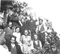 Драгачевски четници са цивилима